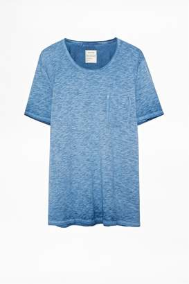 Zadig & Voltaire Toby Cold Dye T-Shirt