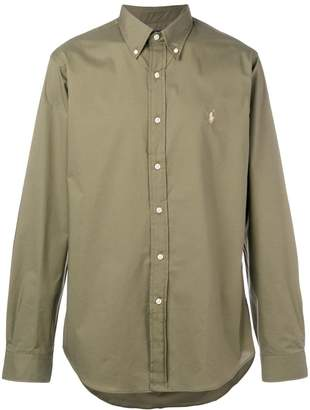 Polo Ralph Lauren logo button-down shirt