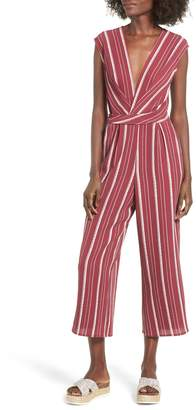 Speechless Stripe Jumpsuit
