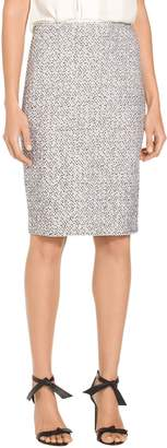 St. John Olivia Boucle Knit Skirt