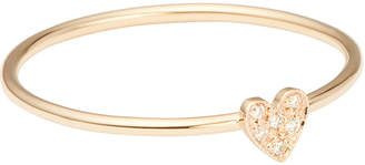 Chicco Zoe Itty Bitty Pave Heart Ring