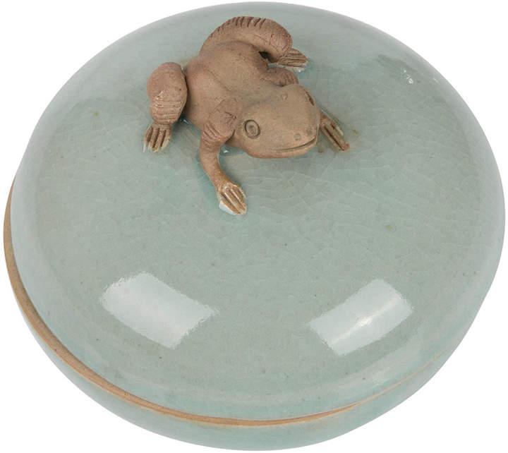 A by Amara - Exbury Frog Trinket Box