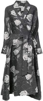 Co floral print coat