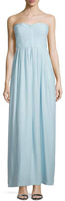 Parker Bayou Strapless Sweetheart Gown, Mist $298 thestylecure.com