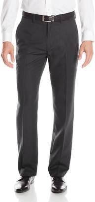Haggar Men's Performance Stria Stripe Tailored Fit Plain Front Suit Separate Pant