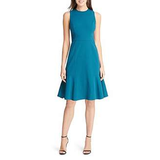Eliza J Women's Sleeveless Dress with Flounce Hem