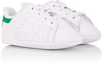 adidas Infants' Stan Smith Leather Crib Sneakers