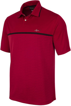 Greg Norman for Tasso Elba Men's Performance Sun Protection Golf Polo $55 thestylecure.com