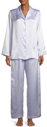 Christine Designs Garbo Classic Silk Pajama Set