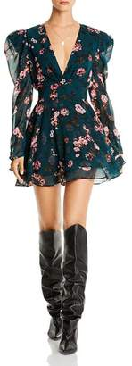 Isa Belle LINI Isabelle Puff-Sleeve Floral Dress - 100% Exclusive