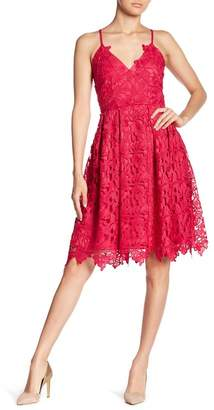 Love...Ady Lace Fit & Flare Dress