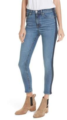 Rag & Bone Side Stripe Skinny Jeans