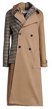 Monse Women's Half & Half Trench Coat