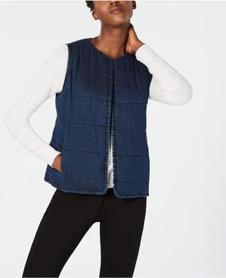 Eileen Fisher Denim Vest, Regular & Petite