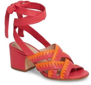 Pour La Victoire Anisa Ankle Wrap Sandal