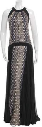 Philosophy di Alberta Ferretti Silk Maxi Dress w/ Tags
