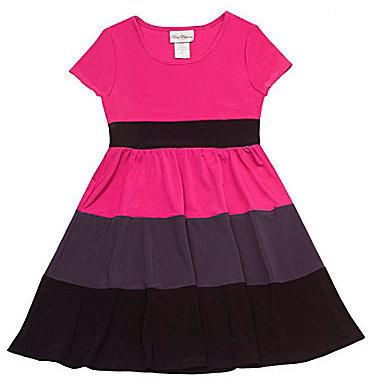 Rare Editions 7-16 Colorblock Dress
