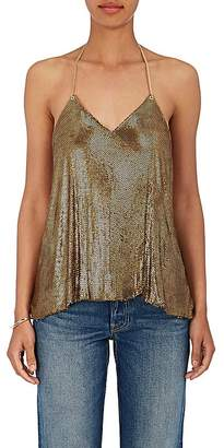 Balmain Women's Chain-Mail Halter Top
