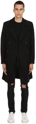 Blend of America Paltò Achille Double Breasted Wool Coat