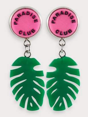 Scotch & Soda Palm Leaf Earrings