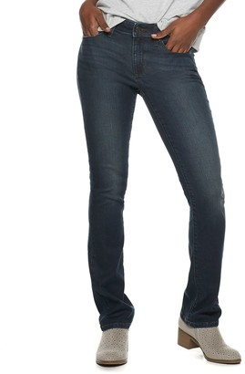 Sonoma Goods For Life Women's SONOMA Goods for Life Midrise Curvy Bootcut Jeans