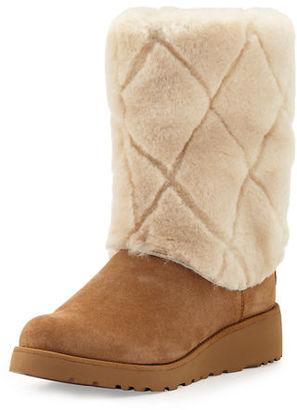 UGG Ariella Luxe Diamond Boot $138 thestylecure.com