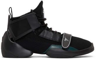 Giuseppe Zanotti Black Light Jump High-Top Sneakers
