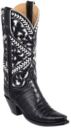 Lucchese Sweetwater Alligator Cowboy Boots
