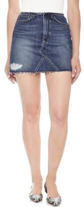 Joe's Jeans Bell Cutoff Denim Mini Skirt