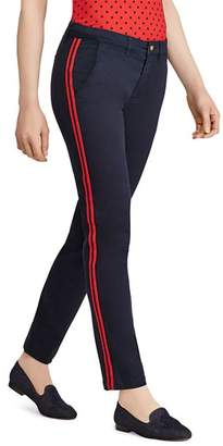 Ralph Lauren Track-Stripe Ankle Pants