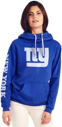 Junk Food Clothing New York Giants Womens Cowl Neck Hoodie