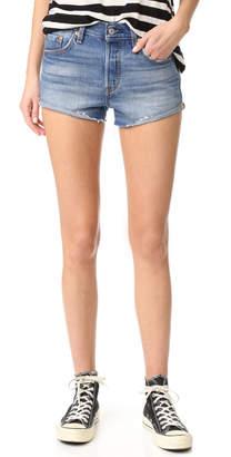 Levi's 501 Shorts $70 thestylecure.com