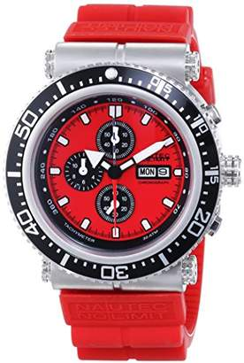Gents Nautec No Limit Watch XL Deep Sea Professional Chronograph DS-P / RBSTSTRD QZ2 Rubber Quartz