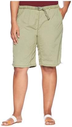 White Sierra Plus Size Hanalei Bermuda Short Women's Shorts