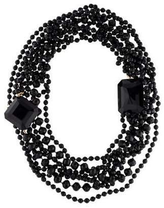 Saint Laurent Long Multistrand Necklace