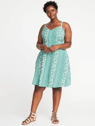 Old Navy Plus-Size Fit & Flare Cami Dress