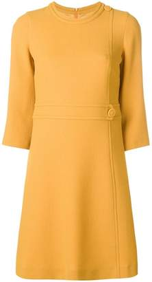 L'Autre Chose buttoned shift dress