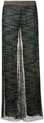 Missoni crochet knitted palazzo pants