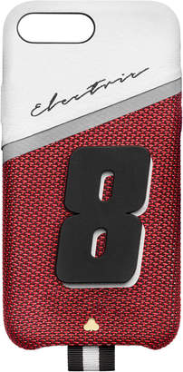Chaos M'O Exclusive Electric 8 Leather iPhone X Case