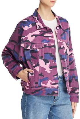 14b71e780cf35 Sunset & Spring Camo Denim Jacket - 100% Exclusive