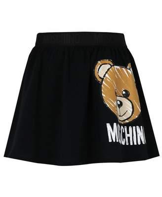 Moschino Toy Bear Logo Skirt Colour: NAVY, Size: Age 4