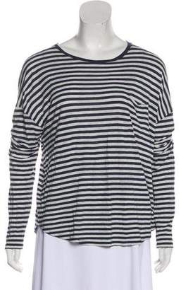 Vince Striped Long Sleeve Top