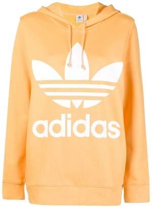 adidas oversized logo hoodie