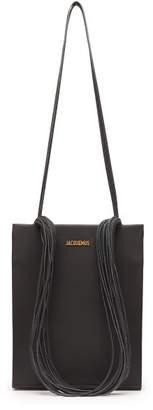 Jacquemus Le A4 Multi Strap Leather Tote - Womens - Black