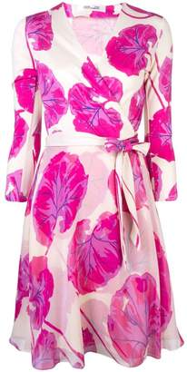 Diane von Furstenberg floral wrap dress