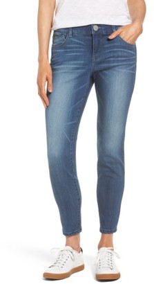Women's Wit & Wisdom Ab-Solution Stretch Ankle Skinny Jeans $68 thestylecure.com