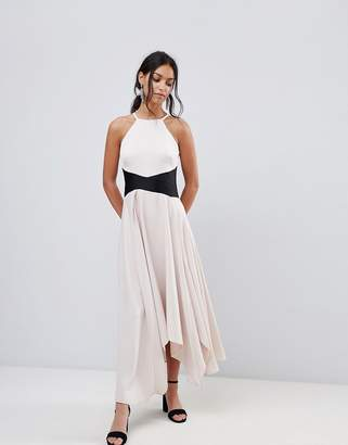 Coast Asymmetric Cami Maxi Dress