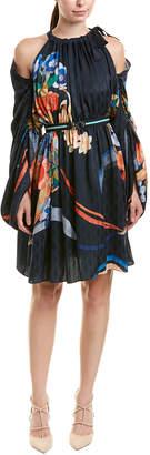 Fendi Cinched Mini Dress