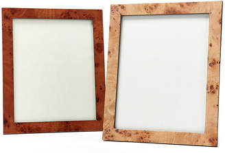 One Kings Lane Asst. of 2 Traverse Picture Frames - Brown Grain