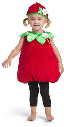 Baby Strawberry Plush Bubble Costume